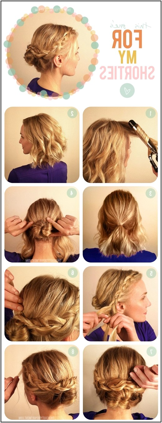 Superb Easy Medium Length Hairstyles For Thick Hair My Blog News Short Hairstyles Gunalazisus